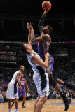 Phoenix Suns v Orlando Magic: Hakim Warrick and Ryan Anderson Photographic Print by Fernando Medina