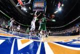 Boston Celtics v Atlanta Hawks: Kevin Garnett, Joe Johnson and Josh Smith Photographic Print by Scott Cunningham