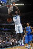 Dallas Mavericks v New Orleans Hornets: Emeka Okafor Photographic Print by Layne Murdoch