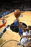 Orlando Magic v San Antonio Spurs: Tim Duncan and Dwight Howard Photographic Print