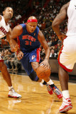 Detroit Pistons v Miami Heat: Charlie Villanueva Photographic Print by Issac Baldizon