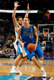 Dallas Mavericks v New Orleans Hornets: Dirk Nowitzki and Marco Belinelli Photographic Print by Chris Graythen