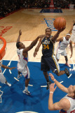 Utah Jazz v Los Angeles Clippers: C.J. Miles and Al-Farouq Aminu Photographic Print by Noah Graham