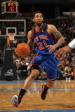 New York Knicks v Denver Nuggets: Wilson Chandler Photographic Print by Doug Pensinger