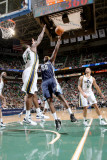 Memphis Grizzlies v Utah Jazz: Zach Randolph and Paul Millsap Photographic Print by Melissa Majchrzak