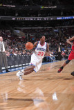 New Jersey Nets v Philadelphia 76ers: Lou Williams Photographic Print by David Dow