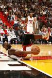 Detroit Pistons v Miami Heat: Dwyane Wade Photographic Print by Issac Baldizon