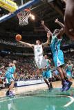 New Orleans Hornets v Utah Jazz: Deron Williams and Emeka Okafor Photographic Print by Melissa Majchrzak