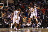 Minnesota Timberwolves v Phoenix Suns: Jared Dudley and Steve Nash Photographic Print by Christian Petersen