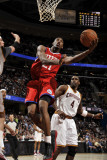 Philadelphia 76ers v Cleveland Cavaliers: Thaddeus Young and Antawn Jamison Photographic Print by David Liam Kyle