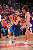 Minnesota Timberwolves v Phoenix Suns: Luke Ridnour and Steve Nash Photographic Print by P.A. Molumby