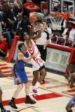 Oklahoma City Thunder v Houston Rockets: Jordan Hill and Nick Collison Photographic Print by Bill Baptist