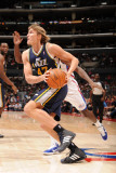 Utah Jazz v Los Angeles Clippers: Andrei Kirilenko Photographic Print by Noah Graham