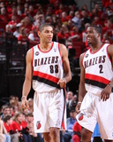 Orlando Magic v Portland Trail Blazers: Wesley Matthews and Nicolas Batum Photo by Sam Forencich