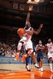 Denver Nuggets v New York Knicks: Raymond Felton Photographic Print by Nathaniel S. Butler