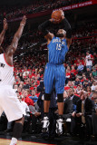 Orlando Magic v Portland Trail Blazers: Vince Carter Photographic Print by Sam Forencich