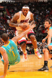 New Orleans Hornets v Miami Heat: LeBron James Photographic Print by Victor Baldizon