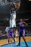 Sacramento Kings v New Orleans Hornets: Emeka Okafor and Jason Thompson Photographic Print by Layne Murdoch