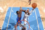 New York Knicks v Denver Nuggets: Al Harrington Photographic Print by Garrett Ellwood