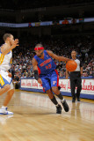 Detroit Pistons v Golden State Warriors: Richard Hamilton Photographic Print by Rocky Widner