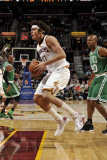 Boston Celtics v Cleveland Cavaliers: Anderson Varejao and Ray Allen Photographic Print by David Liam Kyle