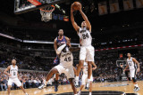 Atlanta Hawks v San Antonio Spurs: Richard Jefferson Photographic Print by D. Clarke Evans