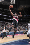 Portland Trail Blazers v New Jersey Nets: Wesley Matthews Photographic Print by David Dow