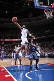 Charlotte Bobcats v Philadelphia 76ers: Andre Iguodala and Gerald Wallace Photographic Print by David Dow