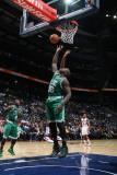 Boston Celtics v Atlanta Hawks: Shaquille O'Neal Photographic Print by Scott Cunningham