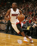 Cleveland Cavaliers v Miami Heat: Dwyane Wade Photographic Print by Issac Baldizon