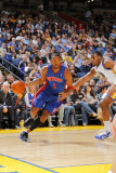 Detroit Pistons v Golden State Warriors: Jeff Adrien and Tracy McGrady Photographic Print by Rocky Widner