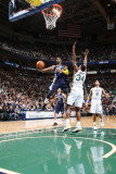 Memphis Grizzlies v Utah Jazz: O.J. Mayo and C.J. Miles Photographic Print by Melissa Majchrzak