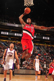 Portland Trail Blazers v Phoenix Suns: Dante Cunningham Photographic Print by Barry Gossage
