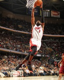 Miami Heat v Cleveland Cavaliers: Dwyane Wade Photographic Print by Nathaniel S. Butler