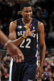 Memphis Grizzlies v Cleveland Cavaliers: Rudy Gay Photographic Print by David Liam Kyle