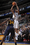 Utah Jazz v Dallas Mavericks: Caron Butler and C.J. Miles Photographic Print by Glenn James