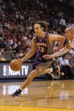 Phoenix Suns v Miami Heat: Steve Nash Photographic Print by Mike Ehrmann