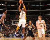 Indiana Pacers v Los Angeles Lakers: Kobe Bryant Photographic Print by Noah Graham