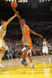 Phoenix Suns v Golden State Warriors: Jason Richardson and David Lee Photographic Print by Rocky Widner