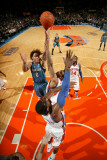 Minnesota Timberwolves v New York Knicks: Michael Beasley, Wilson Chandler and Amar'e Stoudemire Photographic Print by Nathaniel S. Butler
