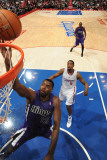 Sacramento Kings v Los Angeles Clippers: Tyreke Evans and DeAndre Jordan Photographic Print by Noah Graham