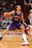 Phoenix Suns v Miami Heat: Steve Nash Photographic Print by Andrew Bernstein