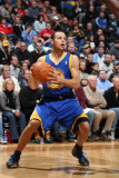 Golden State Warriors v Minnesota Timberwolves: Stephen Curry Photographic Print by David Sherman