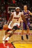 Phoenix Suns v Miami Heat: LeBron James Photographic Print by Issac Baldizon