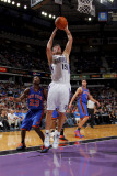 New York Knicks v Sacramento Kings: Beno Udrih Photographic Print by Rocky Widner