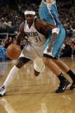 New Orleans Hornets v Dallas Mavericks: Jason Terry and Peja Stojakovic Fotografisk tryk af Glenn James