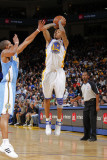 Denver Nuggets v Golden State Warriors: Monta Ellis and Arron Afflalo Photographic Print by Rocky Widner