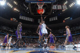 Phoenix Suns v Denver Nuggets: Chauncey Billups and Grant Hill Photographic Print by Garrett Ellwood