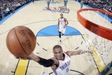 New Orleans Hornets v Oklahoma City Thunder: Russell Westbrook Photographic Print by Layne Murdoch