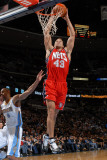 New Jersey Nets v Denver Nuggets: Kris Humphries and Arron Afflalo Photographic Print by Garrett Ellwood